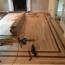 wood floor installers adding floor flare to your new wood floor installation project Small Custom