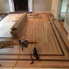 wood floor installers adding floor flare to your new wood floor installation project Small Custom